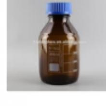 בקבוק מעבדה חום פקק כחול