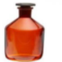 בקבוקי ראגנט חום עם לטש ופקק זכוכית